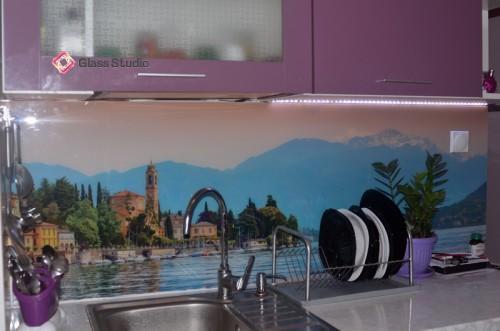 Принт стъкло Пейзаж Италия