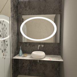 Огледало Прима неутрална светлина