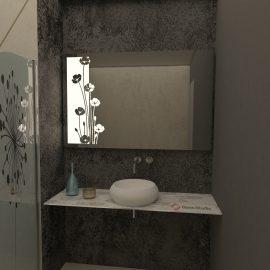 Огледало Клер неутрална светлина